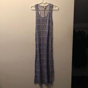 F21 Tribal Maxi Dress